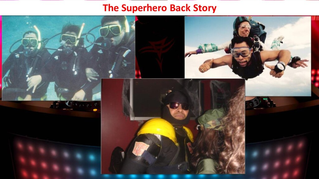 The Superhero Back Story