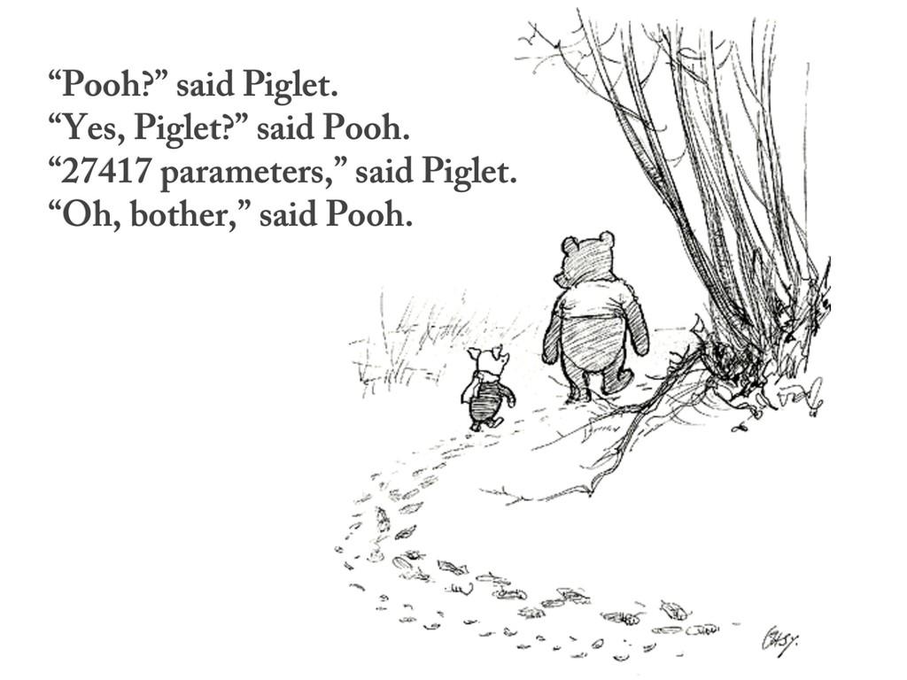 """Pooh?"" said Piglet. ""Yes, Piglet?"" said Pooh. ..."