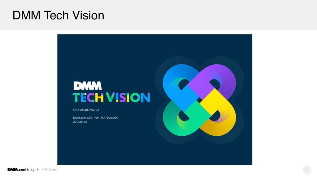 © DMM.com DMM Tech Vision 11