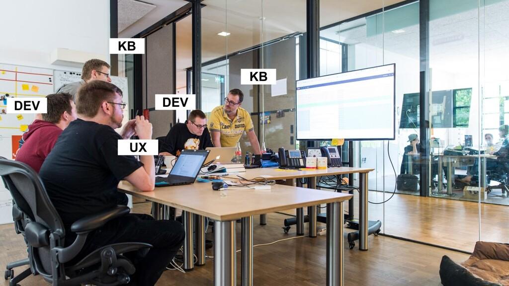 KB KB UX DEV DEV