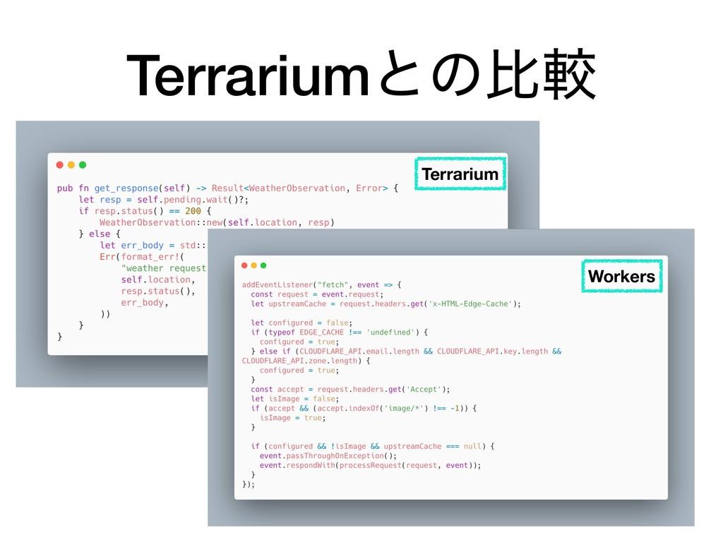 Terrariumͱͷൺֱ Terrarium Workers