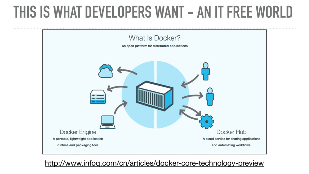 THIS IS WHAT DEVELOPERS WANT - AN IT FREE WORLD...