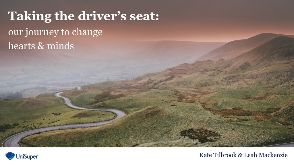Taking the driver's seat: our journey to change...