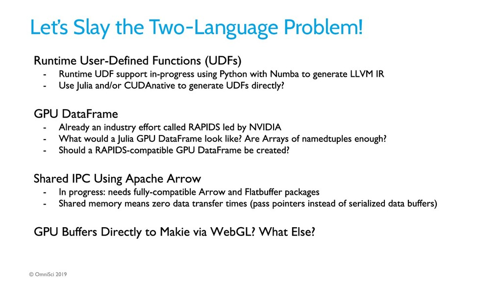 Let's Slay the Two-Language Problem!