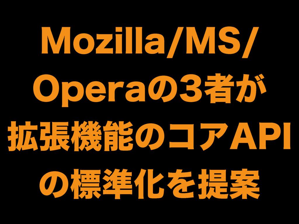 """.P[JMMB.4 0QFSBͷऀ͕ ֦ுػͷίΞ""""1* ͷඪ४ԽΛఏҊ"""