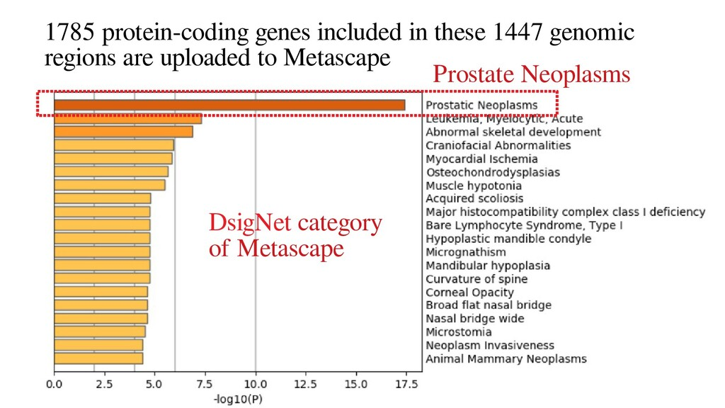 1785 protein-coding genes included in these 144...
