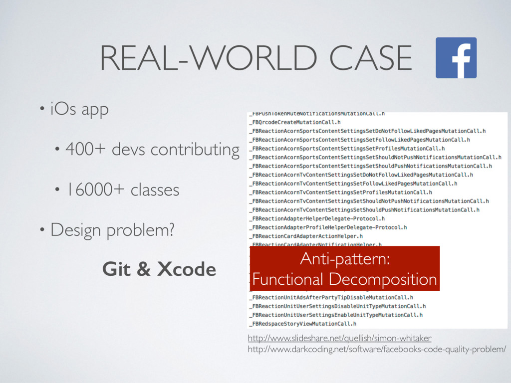 REAL-WORLD CASE • iOs app • 400+ devs contribut...