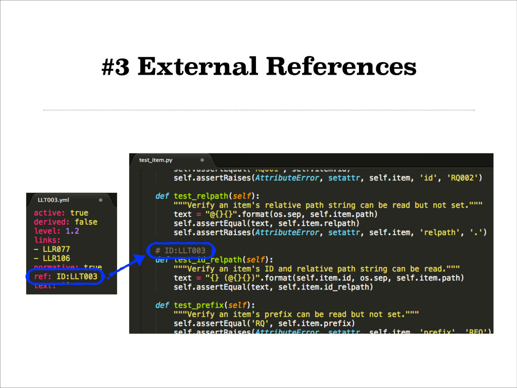 #3 External References