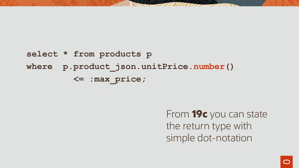 select * from products p where p.product_json.u...