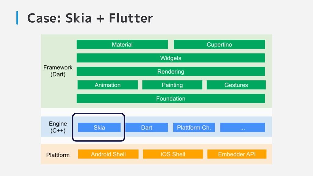 Case: Skia + Flutter