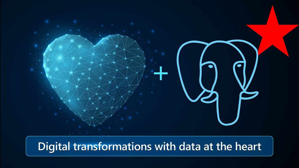 Digital transformations with data at the heart +