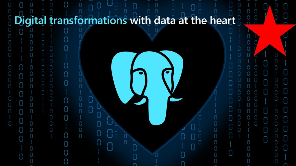 Digital transformations with data at the heart