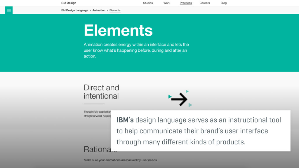 IBM's design language serves as an instructiona...