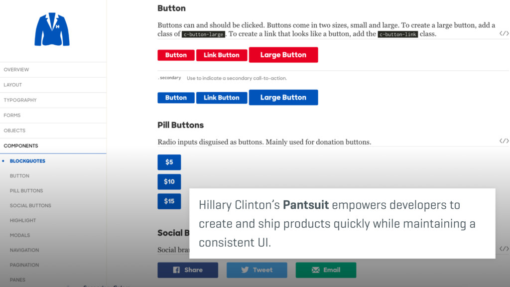 Hillary Clinton's Pantsuit empowers developers ...