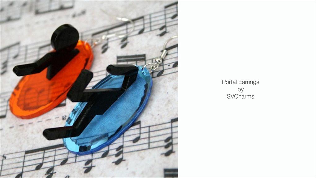 Portal Earrings by SVCharms