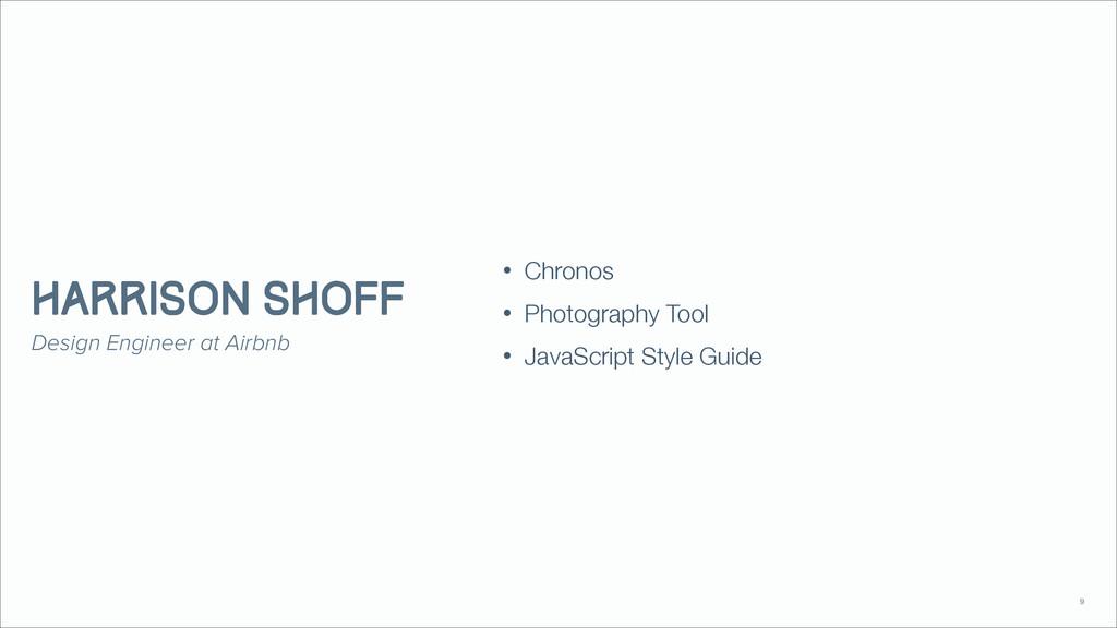• Chronos • Photography Tool • JavaScript Style...