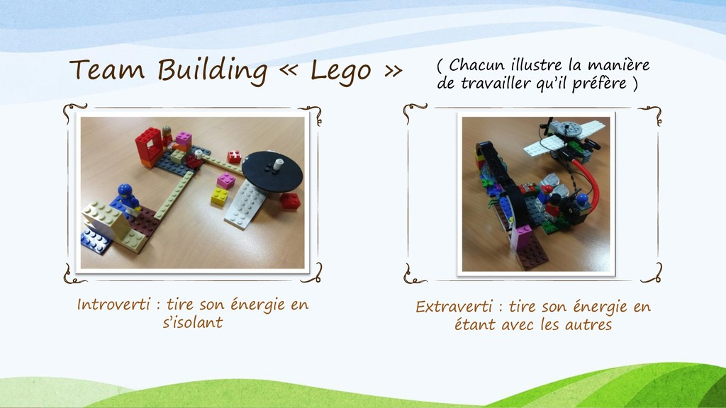 Team Building « Lego » Introverti : tire son én...