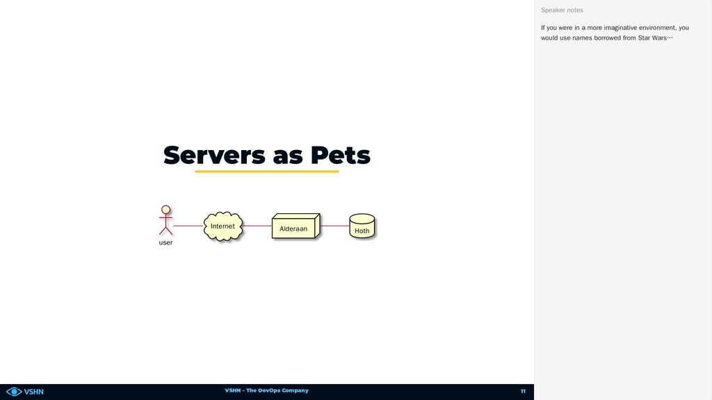 VSHN – The DevOps Company user Internet Alderaa...