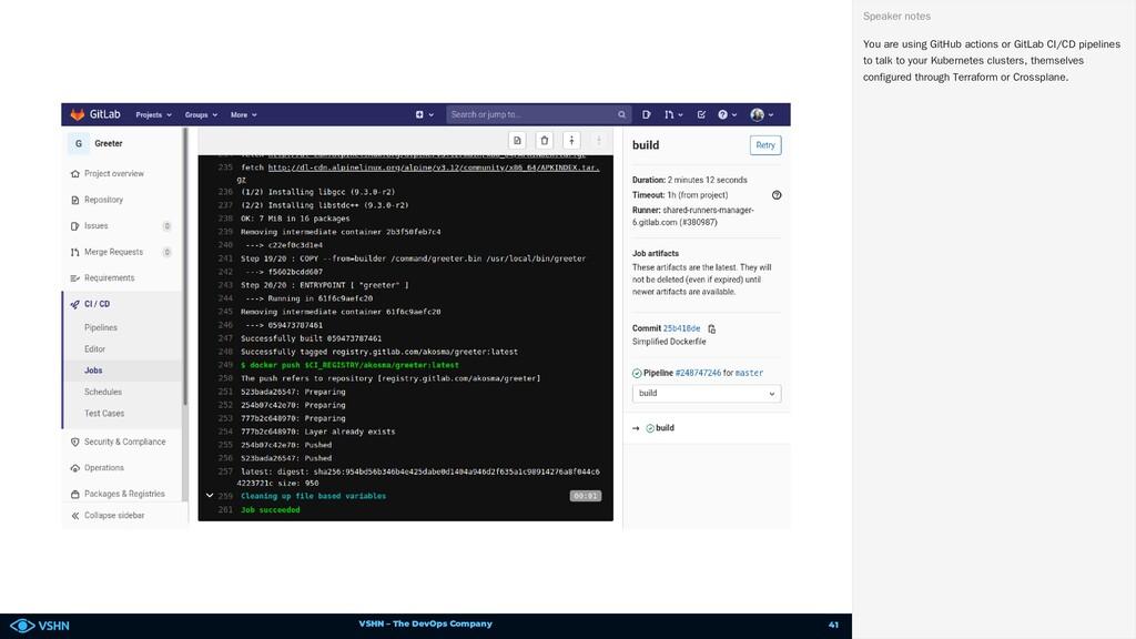 VSHN – The DevOps Company You are using GitHub ...