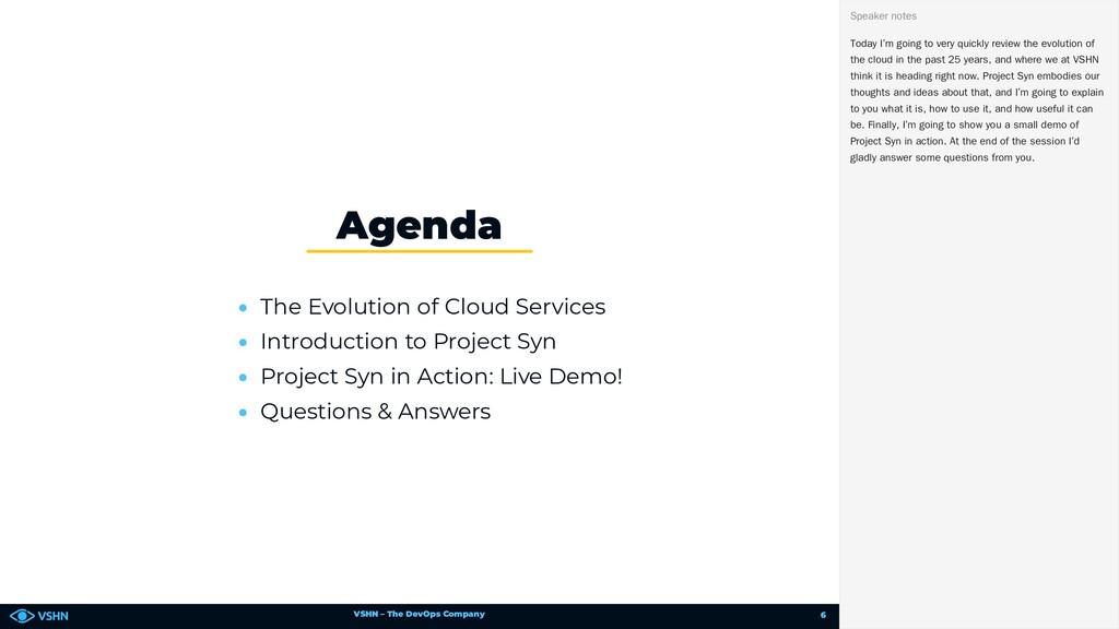 VSHN – The DevOps Company • The Evolution of Cl...