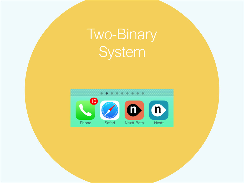 Two-Binary System