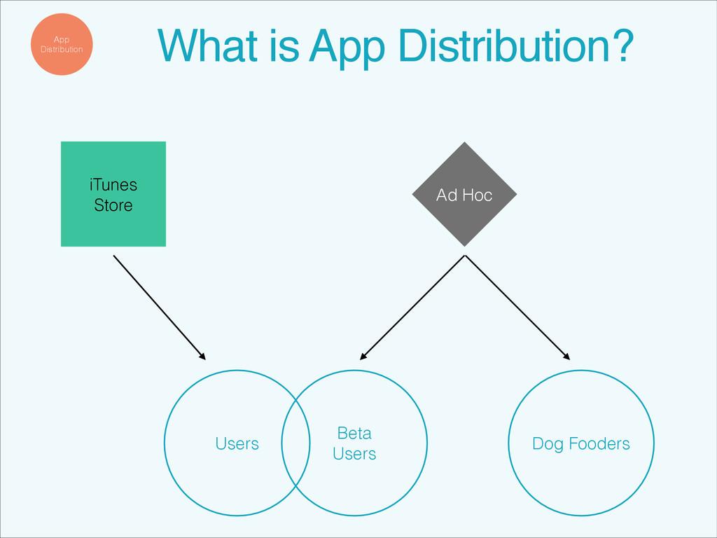 App Distribution What is App Distribution?! iTu...