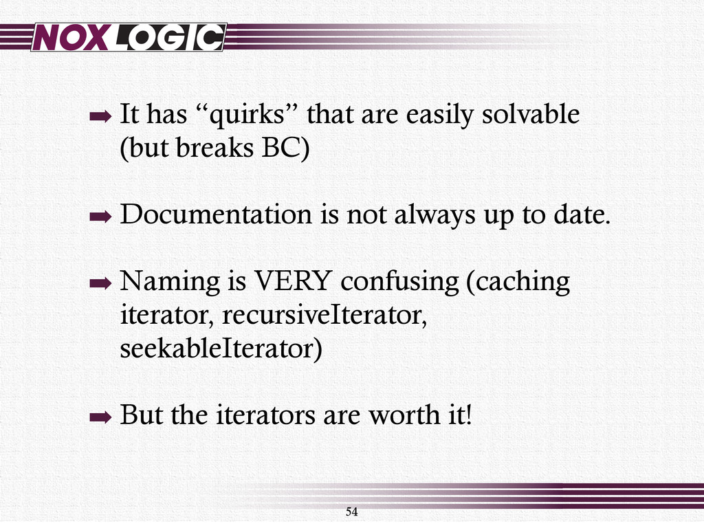 "➡ It has ""quirks"" that are easily solvable (but..."