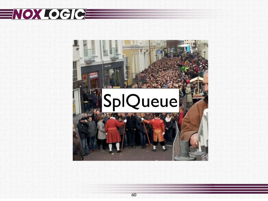 60 SplQueue