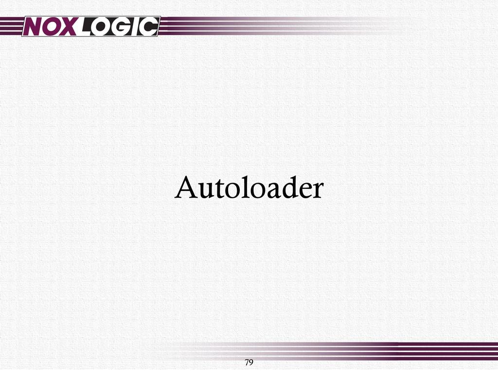 79 Autoloader