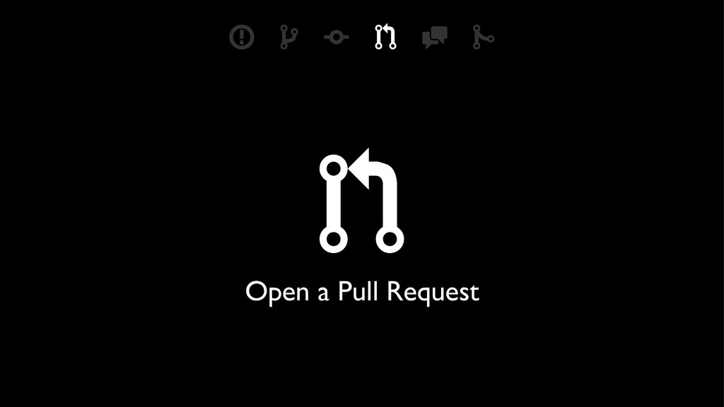 ) Open a Pull Request & * ( ) + '