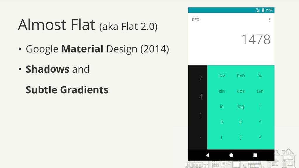 Almost Flat (aka Flat 2.0) • Google Material De...
