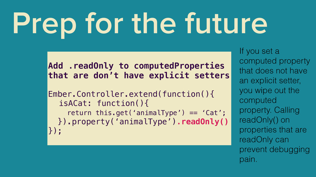 Prep for the future Add .readOnly to computedPr...