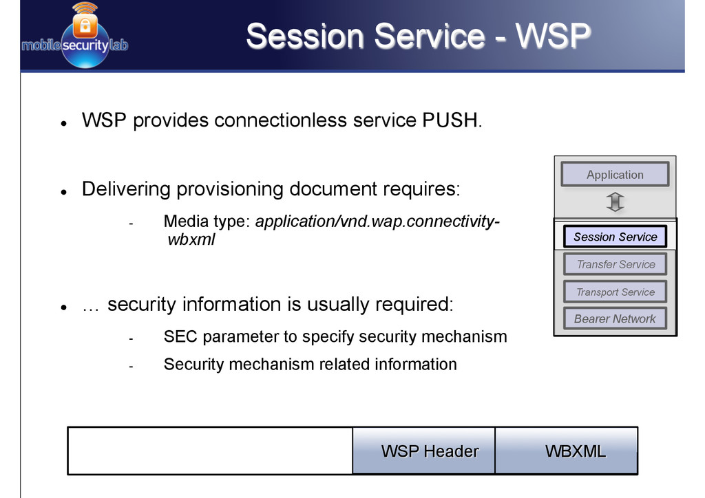 Session Service - WSP l WSP provides connecti...