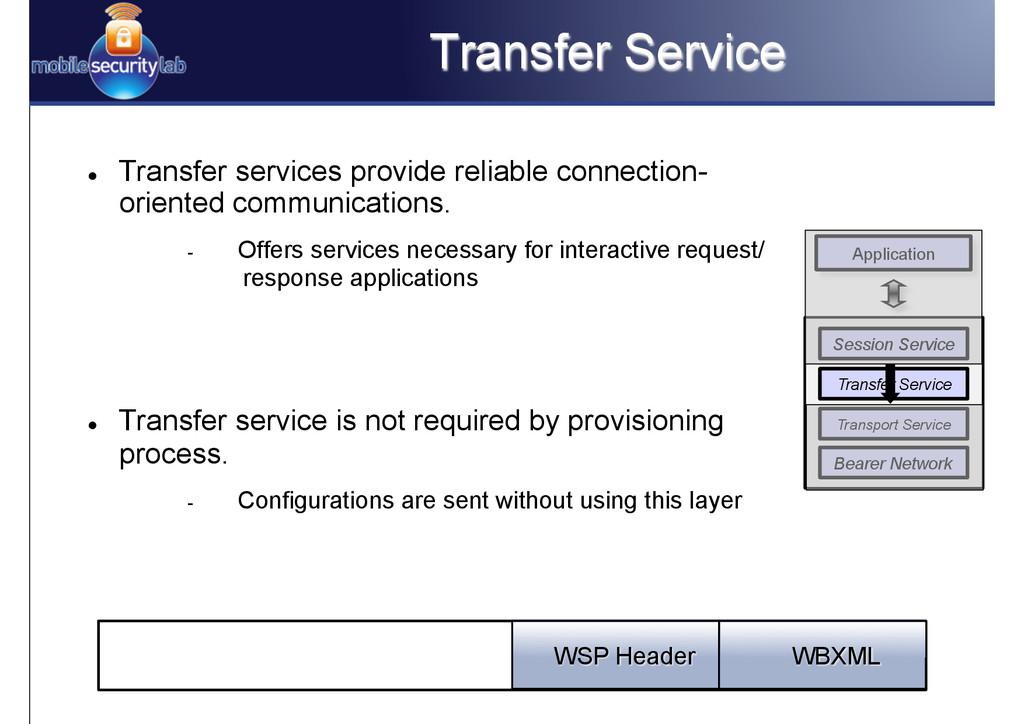 Transfer Service l Transfer services provide ...