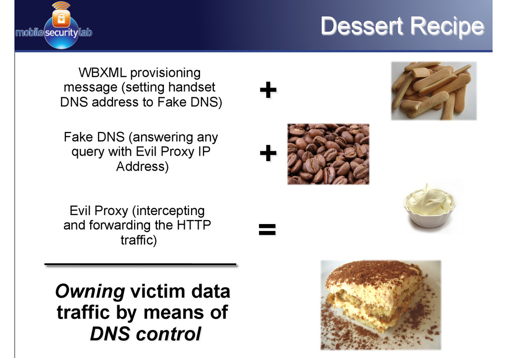 Dessert Recipe Fake DNS (answering any query wi...
