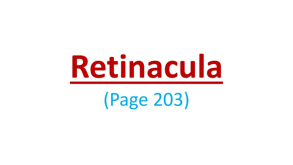 Retinacula (Page 203)