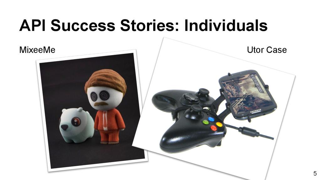 5 API Success Stories: Individuals MixeeMe Utor...