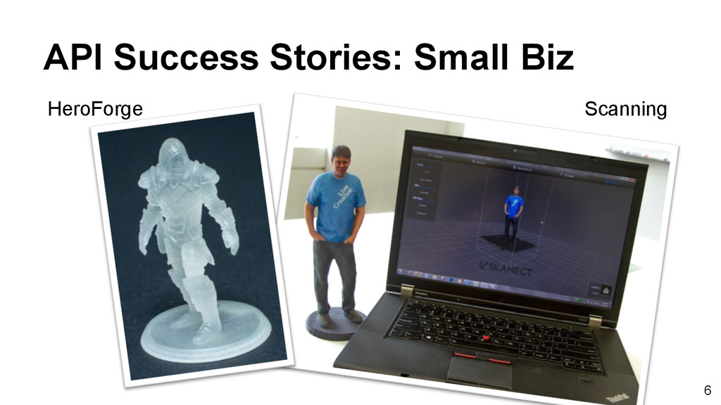 6 API Success Stories: Small Biz HeroForge Scan...