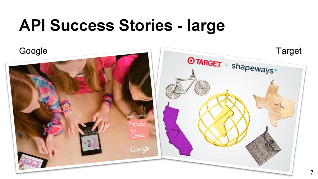 7 API Success Stories - large Target Google