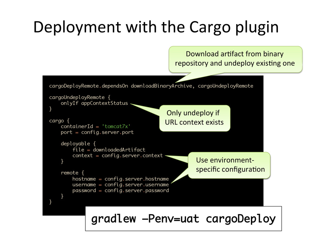 Deployment	