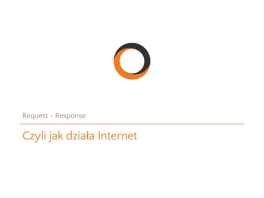 Czyli jak działa Internet Request - Response