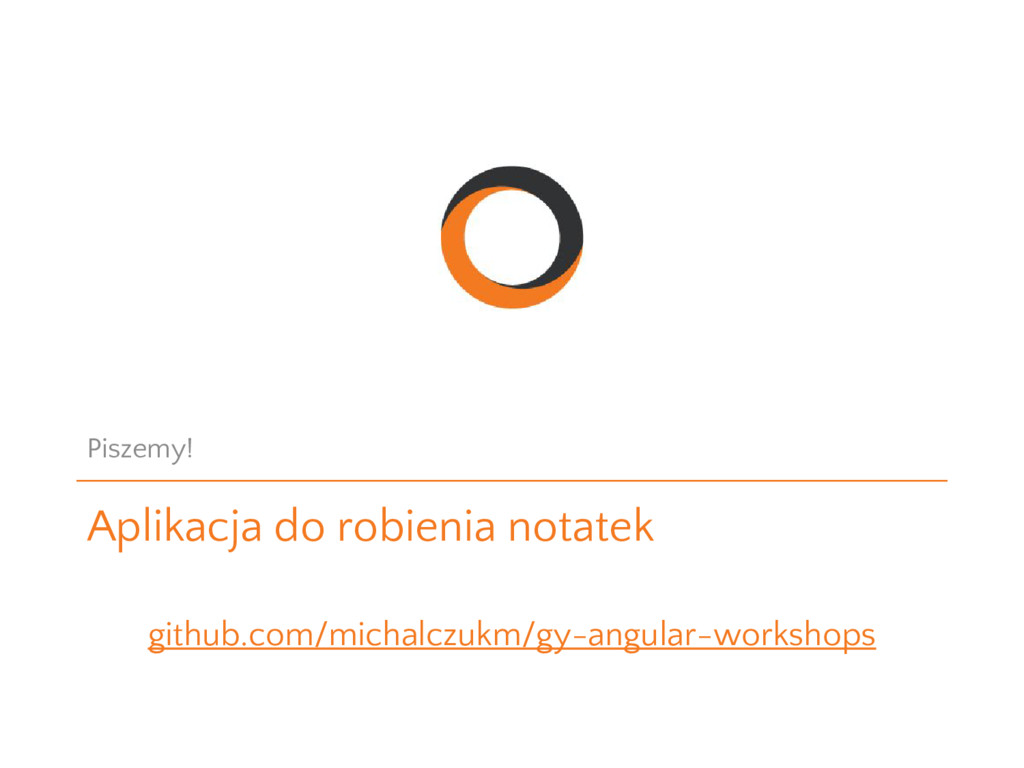 Aplikacja do robienia notatek Piszemy! github.c...