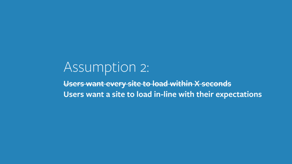Assumption 2: Users want every site to load wit...
