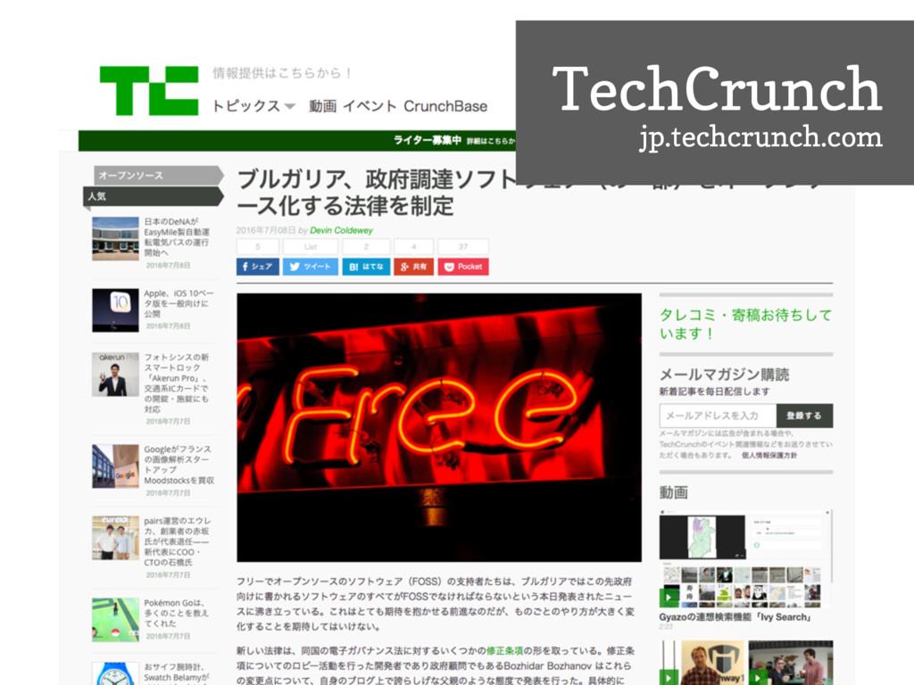 TechCrunch jp.techcrunch.com