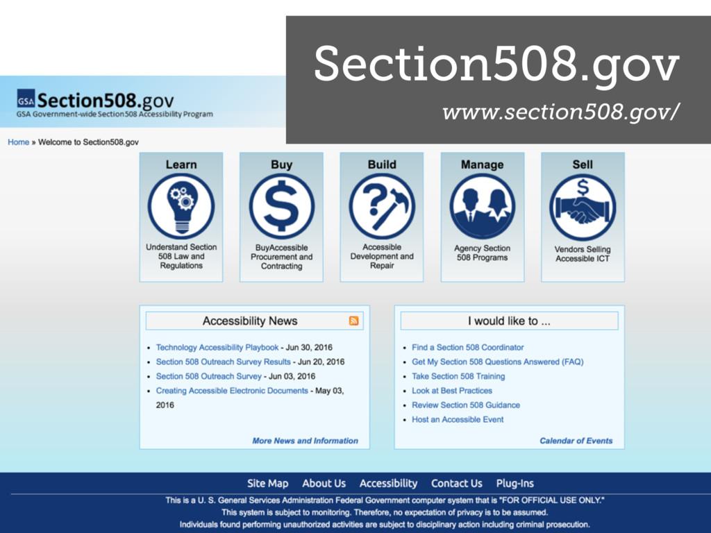 Section508.gov www.section508.gov/