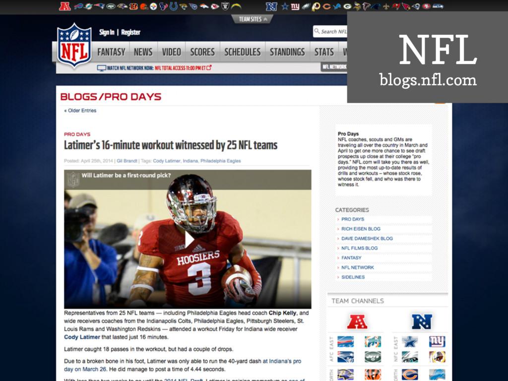 NFL blogs.nfl.com