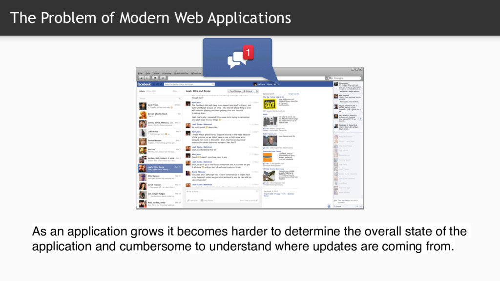 The Problem of Modern Web Applications As an ap...