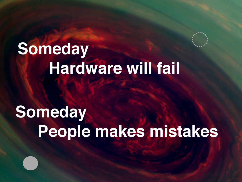 Someday! People makes mistakes Someday Hardwar...