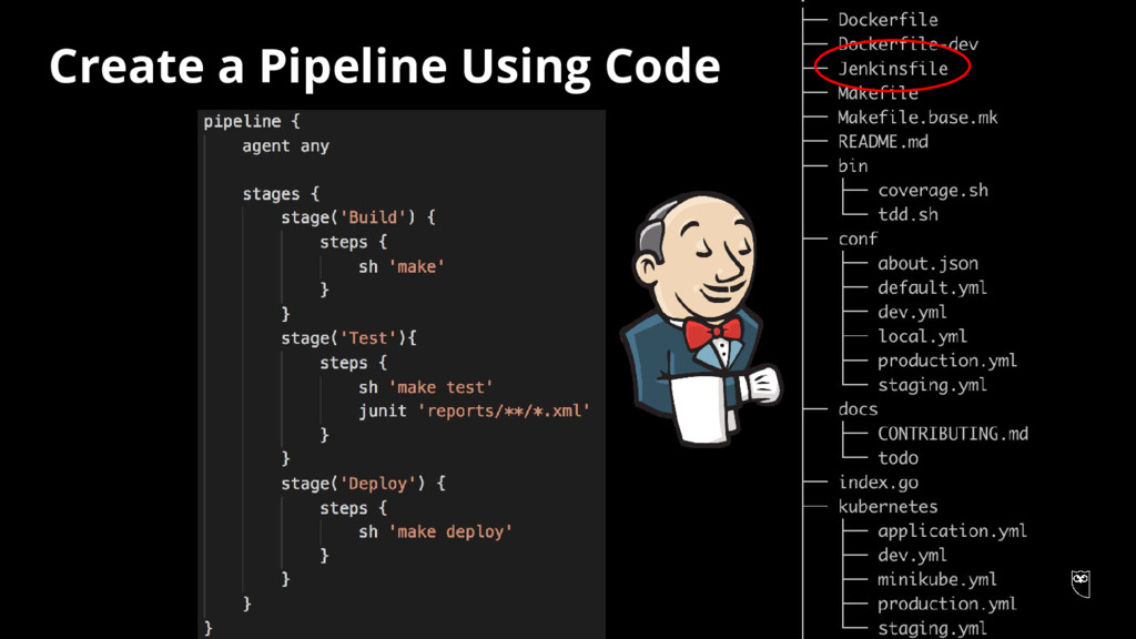 Create a Pipeline Using Code