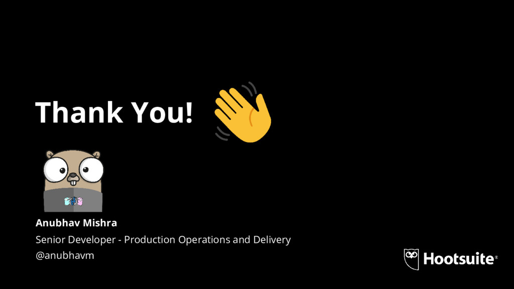 Thank You! Senior Developer - Production Operat...